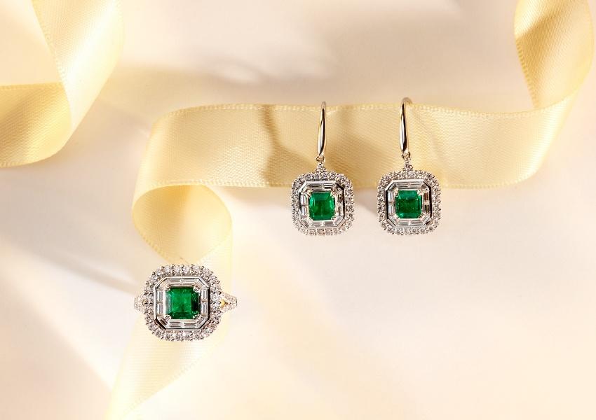 Matthew_Ely_Emerald_Diamond_Dress_Ring_Drop_Earrings.jpg